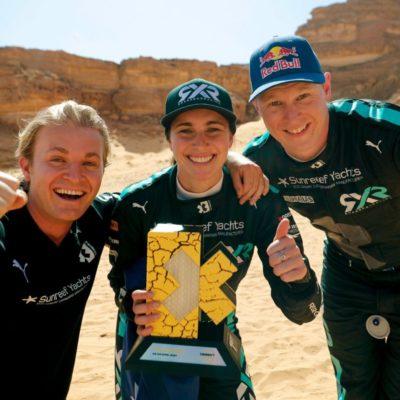 Nico Rosberg Extreme E Johan Kristoffersson Molly Taylor Desert