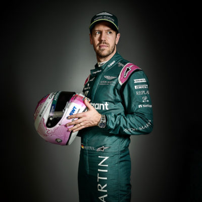 Formel 1 Sebastian Vettel Aston Martin Portrait 2021