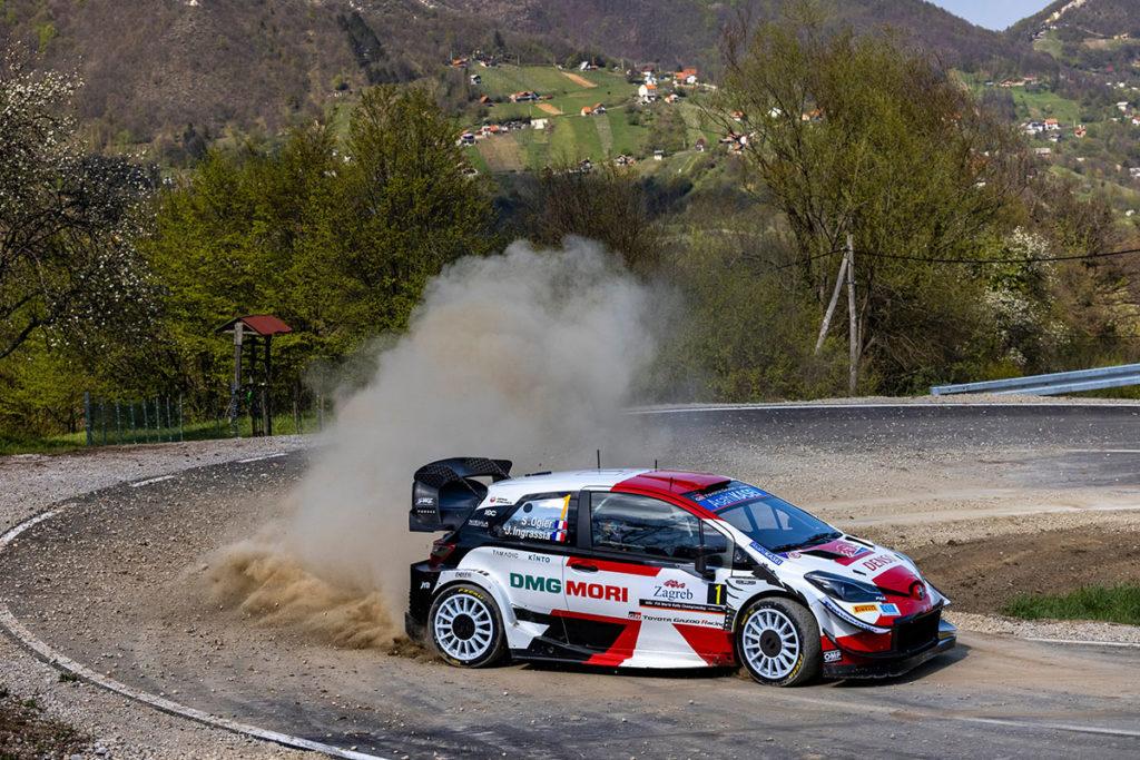 WRC Ogier Toyota 2021
