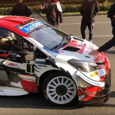 WRC Toyota Sébastien Ogier Polizei Zwischenfall 2021