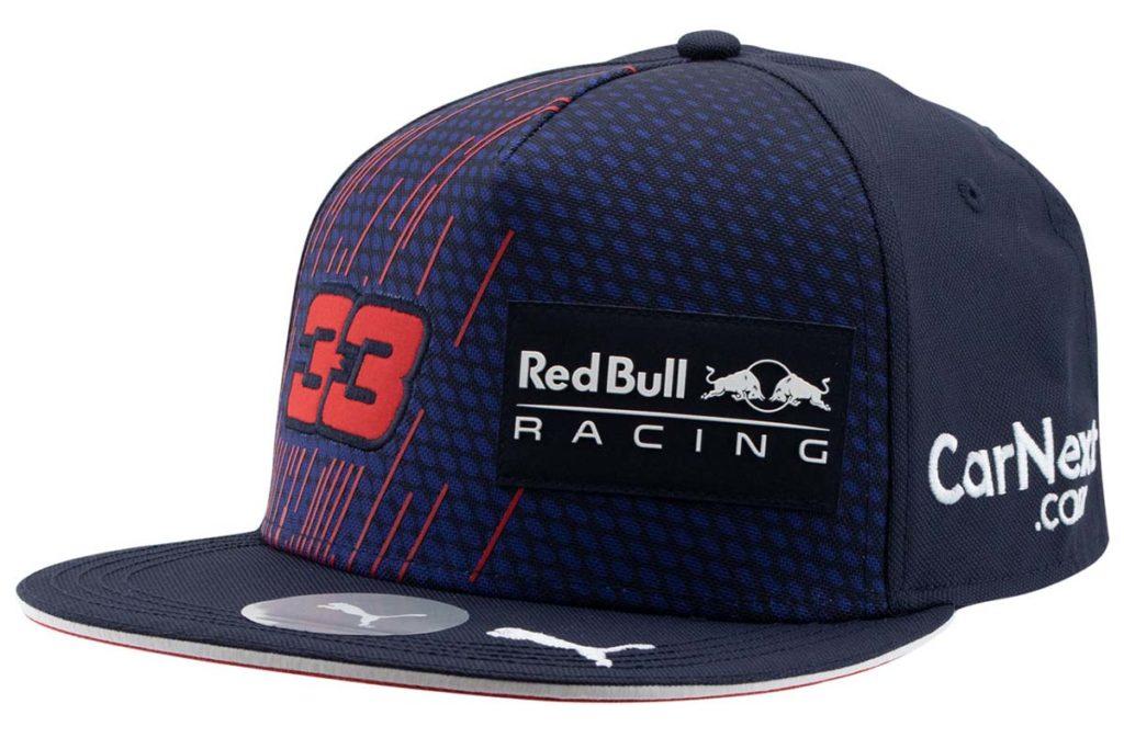 Max Verstappen Fanartikel Cap 2021. Credit: paddock-legends.com