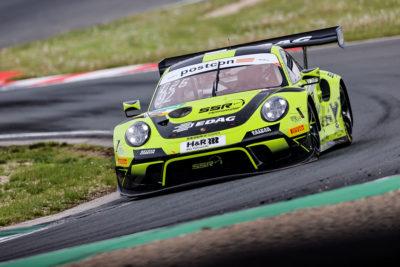 ADAC GT Masters Porsche 911 GT3 R, SSR Performance: Michael Ammermüller, Mathieu Jaminet 2021