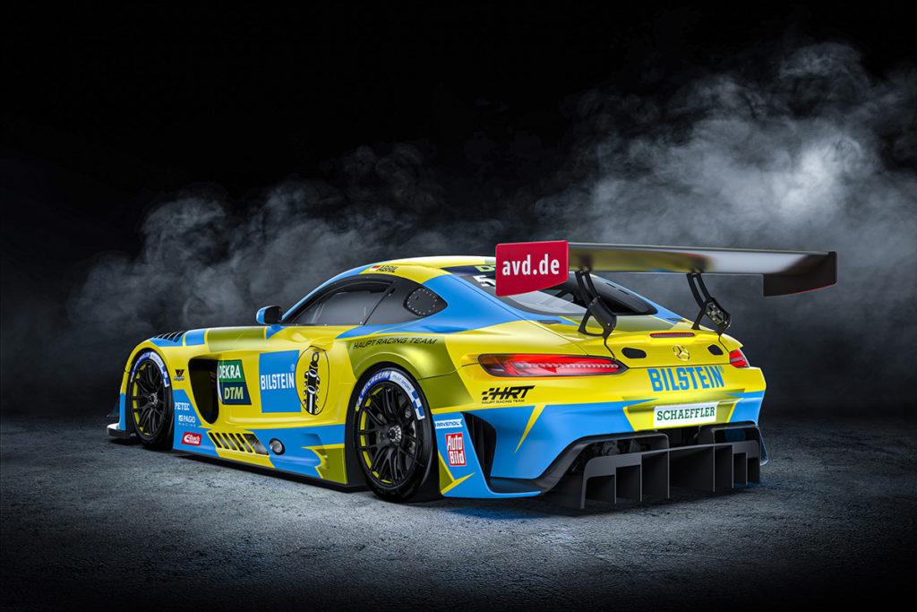 HRT Mercedes DTM 2021
