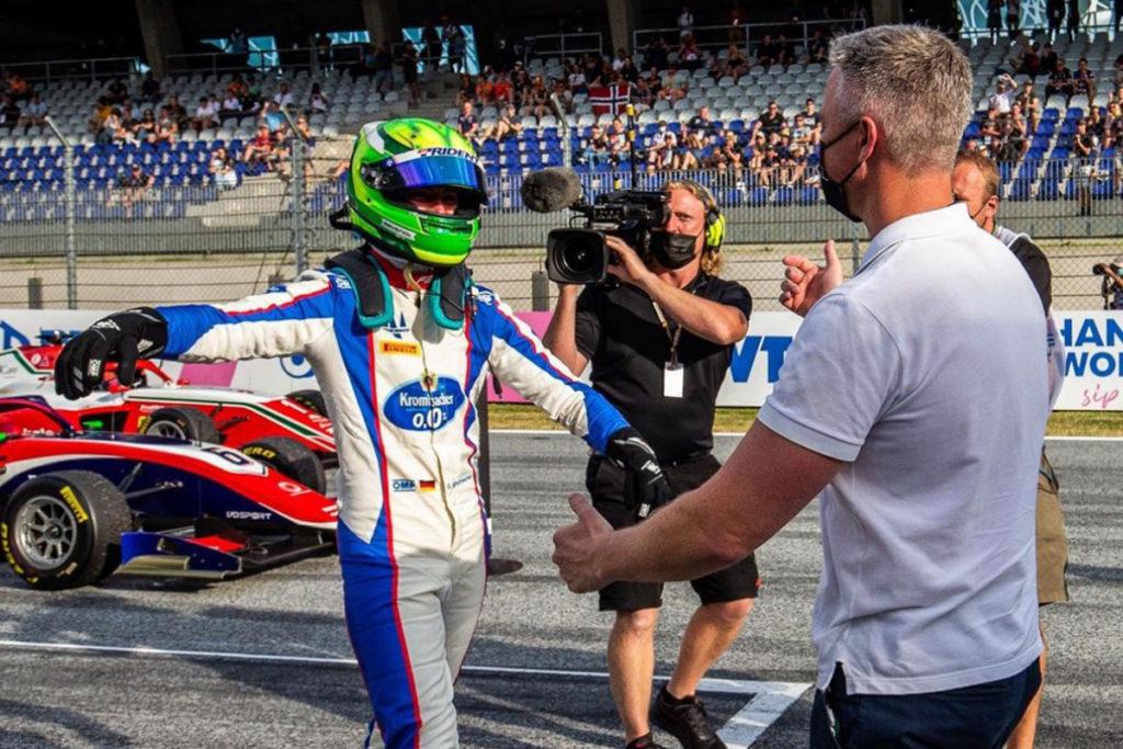 David Schumacher Formel 3 Spielberg 2021