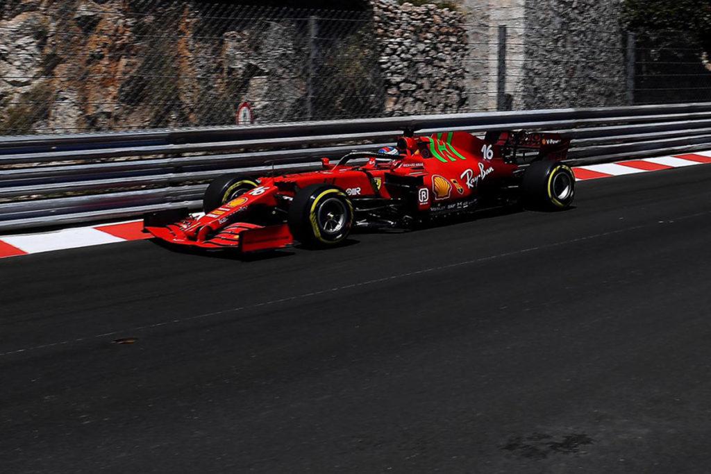 Formel 1 Monaco GP 2021 Ferrari Leclerc