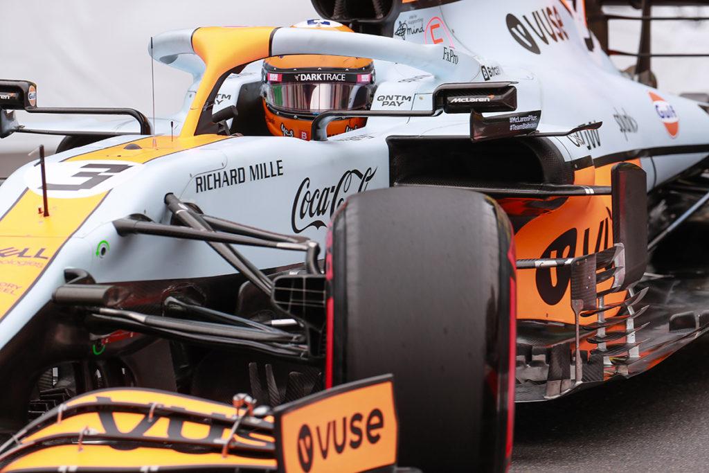 Formel 1 McLaren Daniel Ricciardo Monaco GP 2021