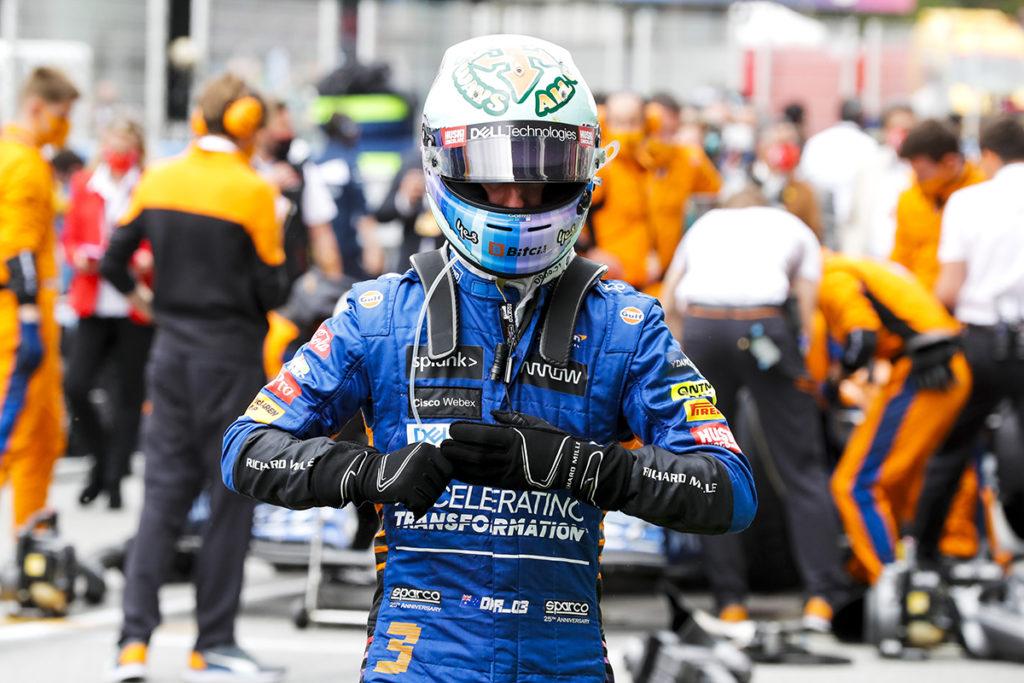 Formel 1 McLaren Daniel Ricciardo Portrait 2021