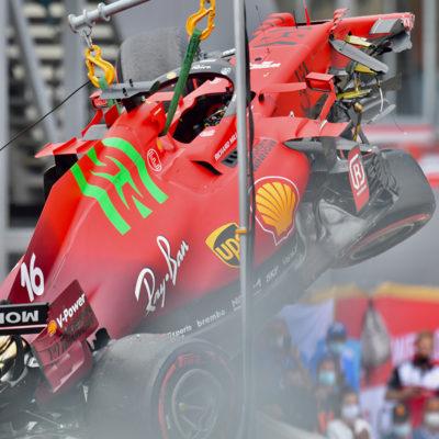Formel 1 Ferrari Leclerc Monaco 2021 3 2