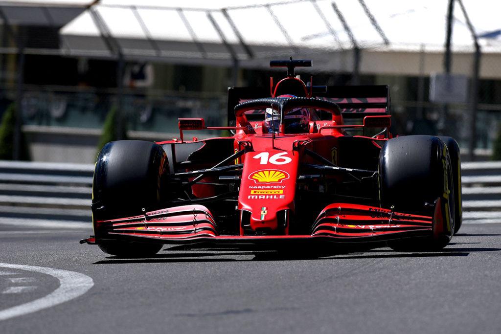 Formel 1 Ferrari Leclerc Monaco GP 2021