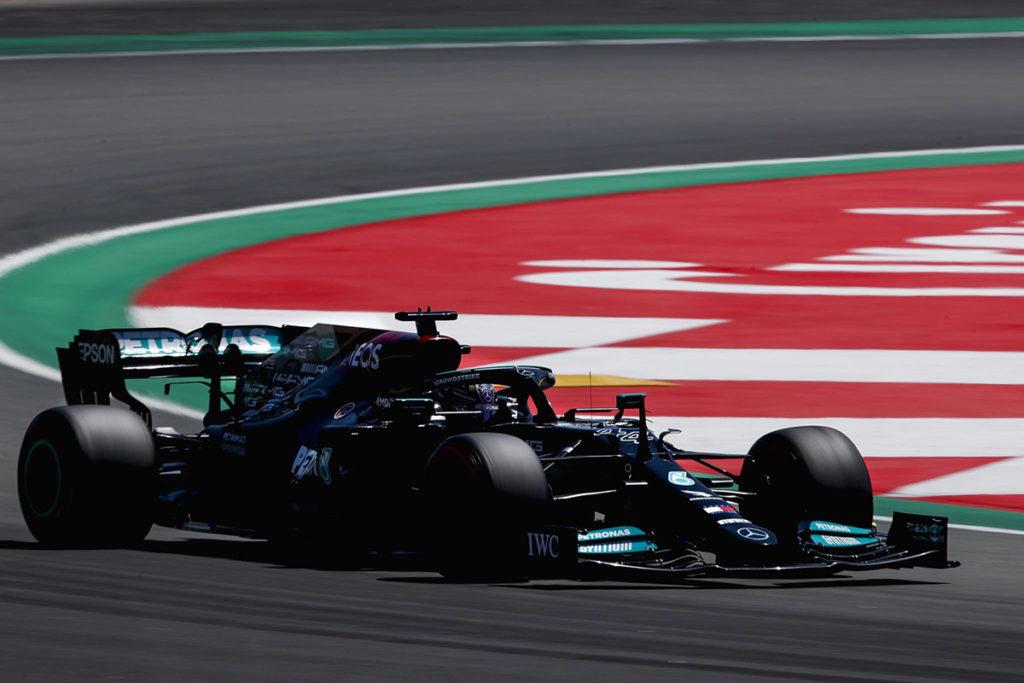 Formel 1 Hamilton Mercedes Spanien GP 2021