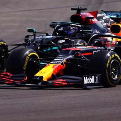 Formel 1 Lewis Hamilton Max Verstappen Portugal GP Rennen