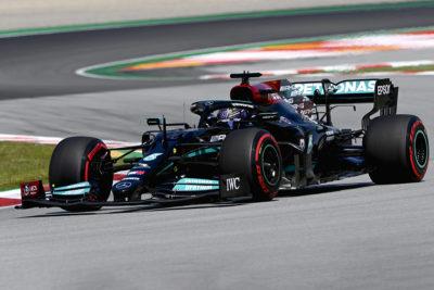 Formel 1 Lewis Hamilton Mercedes Spanien GP 2021