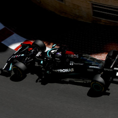 Formel 1 Lewis Hamilton Mercedes Monaco GP 2021 FP2