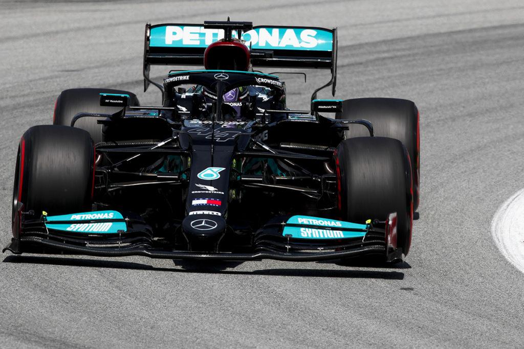 Formel 1 Lewis Hamilton Mercedes Spanien GP 2021 FP2