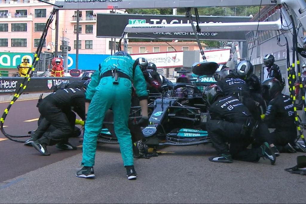 Formel 1 Valtteri Bottas Monaco GP 2021 Mercedes Rennen