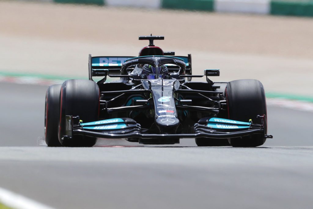 Formel 1 Lewis Hamilton Mercedes Portugal GP 2021 Quali