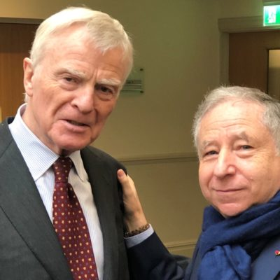 Formel 1 Max Mosley Jean Todt