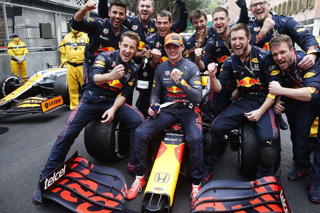 Formel 1 Max Verstappen Red Bull WM Stand Monaco GP 2021