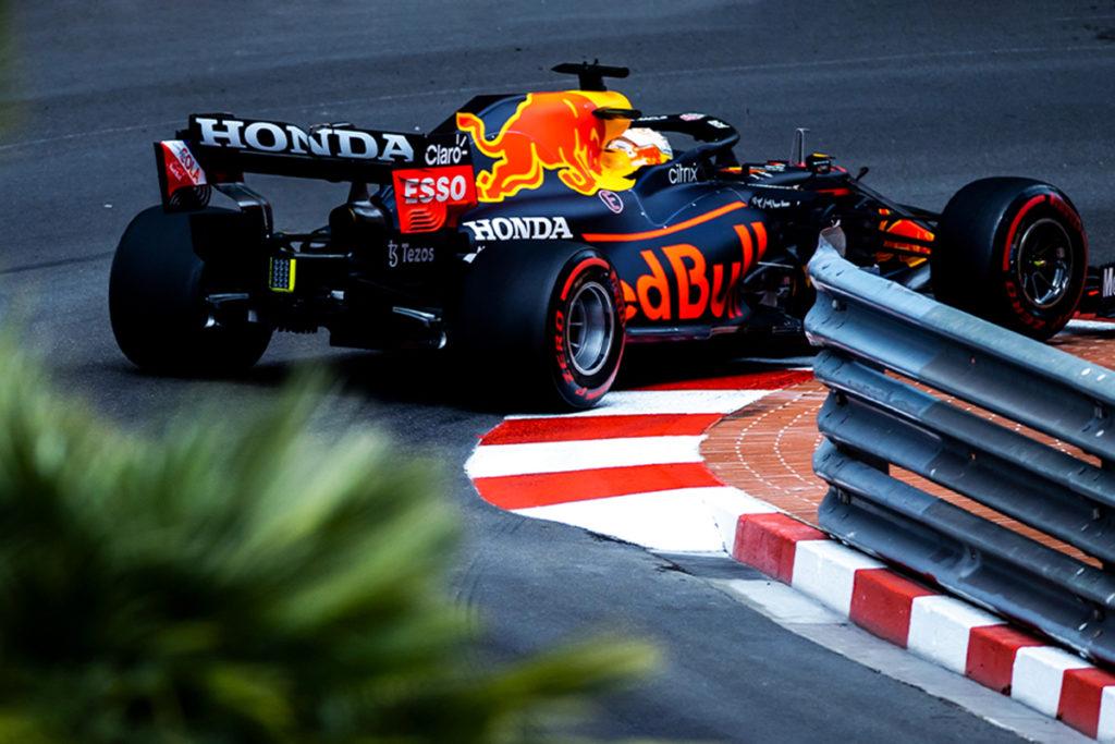 Formel 1 Max Verstappen Red Bull Monco GP Quali 2021