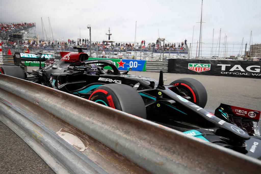 Formel 1 Mercedes Monaco GP Lewis Hamilton