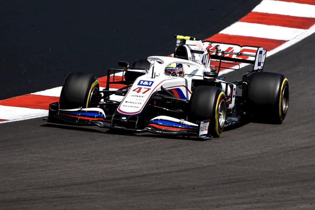 Formel 1 Mick Schumacher Haas Portugal Grand Prix 2021