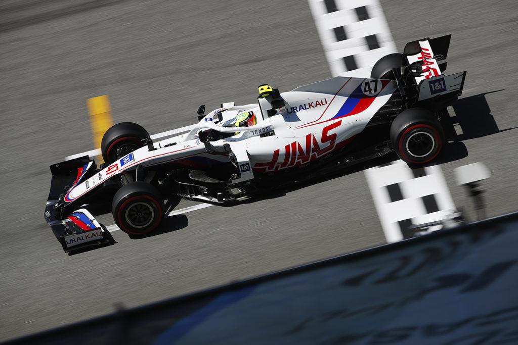Formel 1 Mick Schumacher Haas Spanien GP 2021 Quali