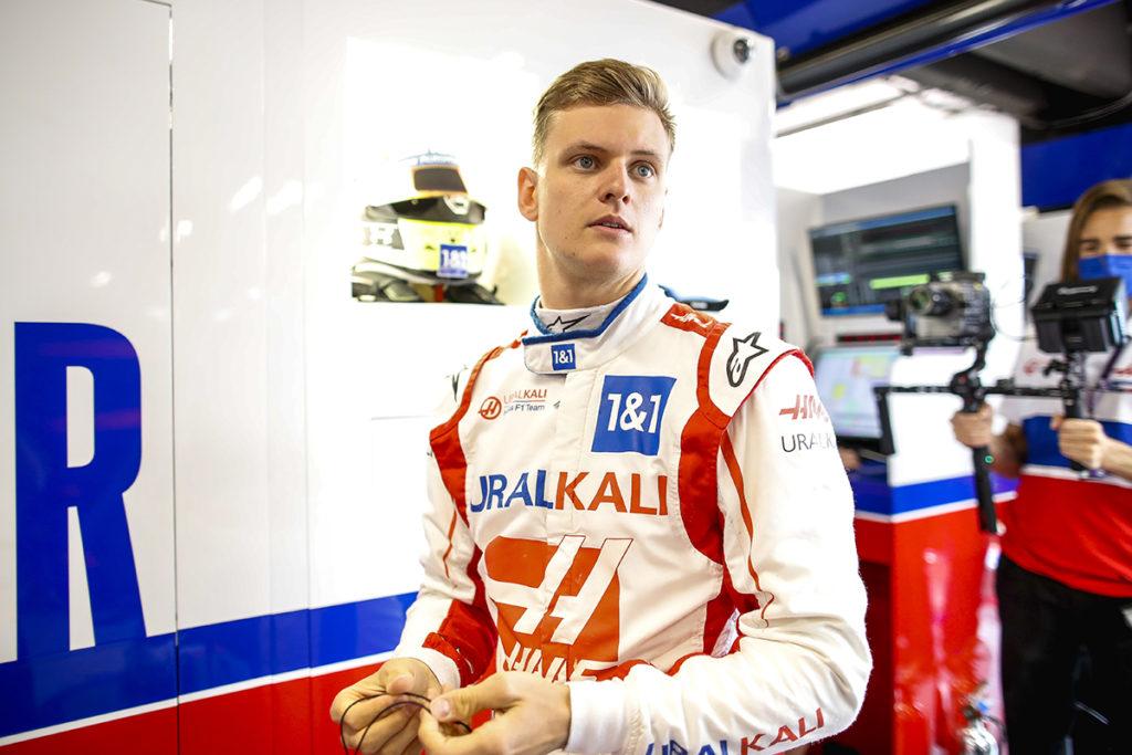 Formel 1 Mick Schumacher Haas Spanien GP 2021 FP2