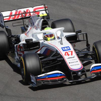 Formel 1 Mick Schumacher Portugal GP Rennen
