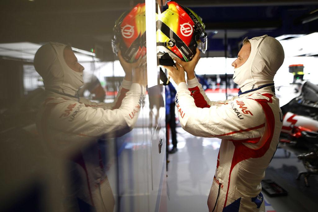 Formel 1 Mick Schumacher Haas Portugal GP 2021 Quali