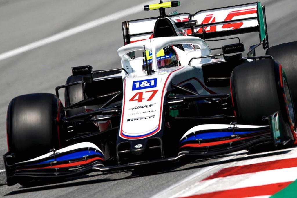 Formel 1 Mick Schumacher Spanien GP 2021
