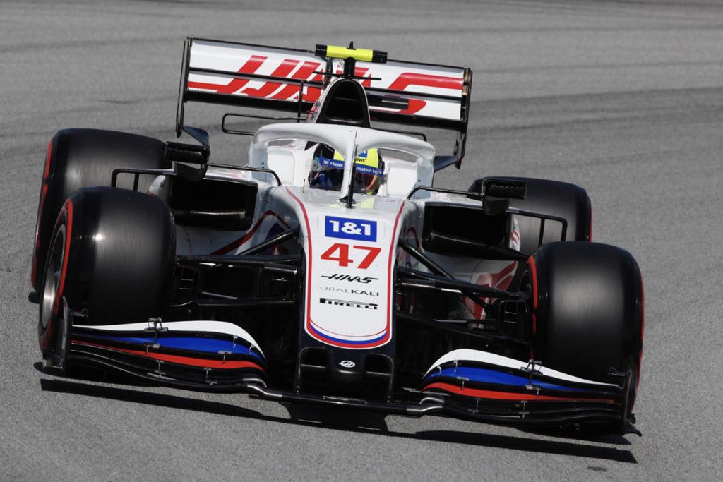 Formel 1 Mick Schumacher Spanien GP 2021 Haas FP1