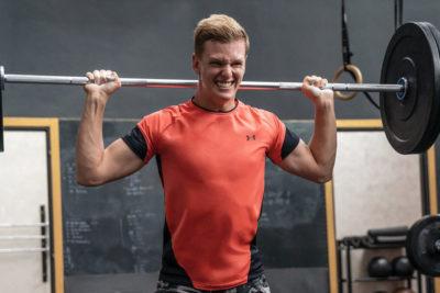 Formel 1 Mick Schumacher Training 2021 Muskeln