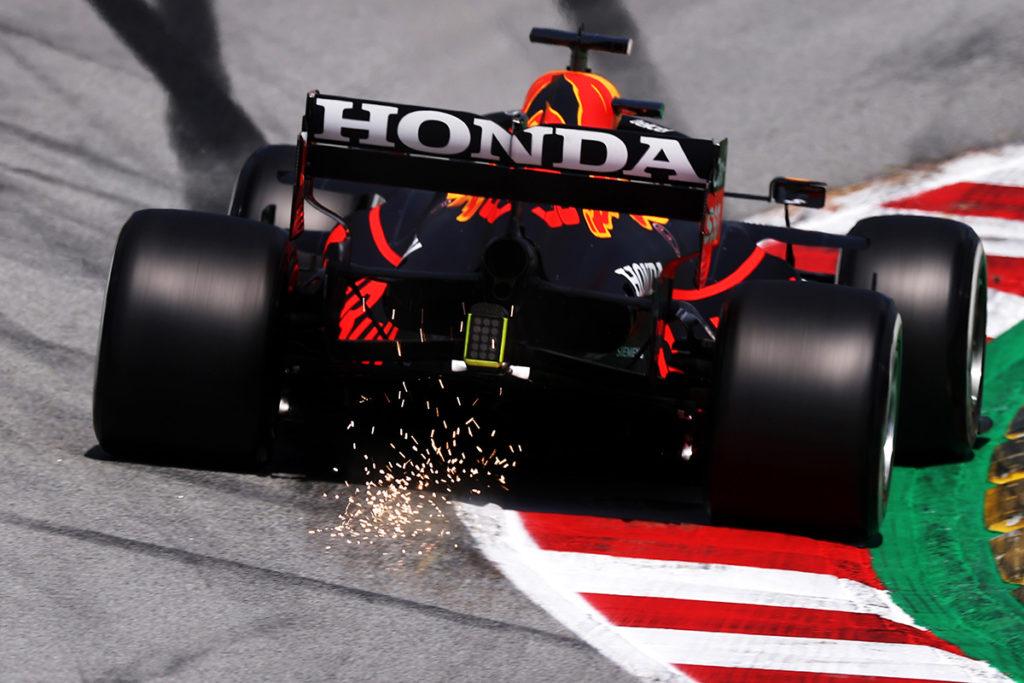 Formel 1 Red Bull Max Verstappen 2021 Heck