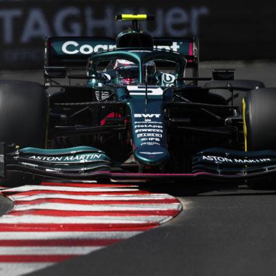 Formel 1 Sebastian Vettel Aston Martin Monaco GP 2021