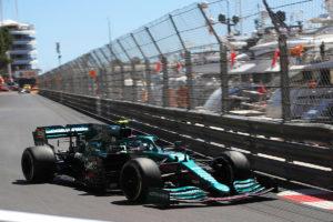 Formel 1 Sebastian Vettel Aston Martin Monaco GP 2021 FP1 Kalender 2022