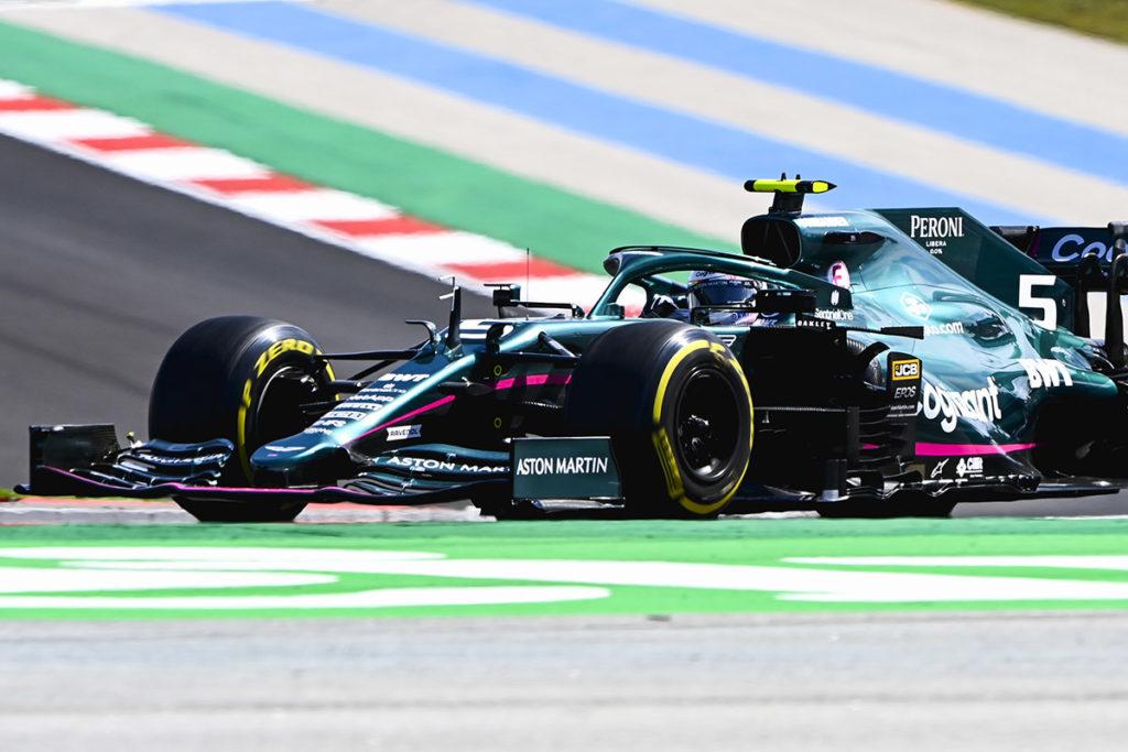 Formel 1 Sebastian Vettel Aston Martin Portugal GP 2021