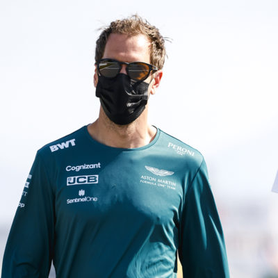 Formel 1 Sebastian Vettel Aston Martin Spanien GP 2021