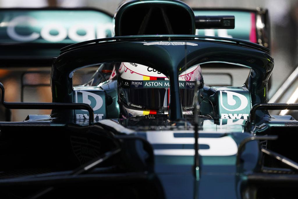 Formel 1 Sebastian Vettel Aston Martin Spanien GP 2021 Quali