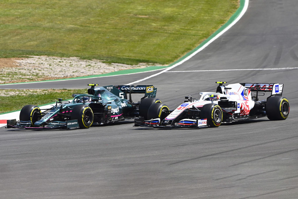 Formel 1 Sebastian Vettel Aston Martin Mick Schumacher Haas Portugal GP 2021