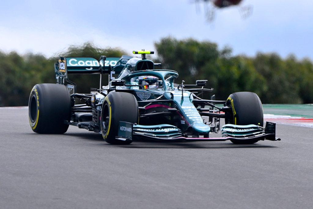 Formel 1 Sebastian Vettel Portugal GP Rennen