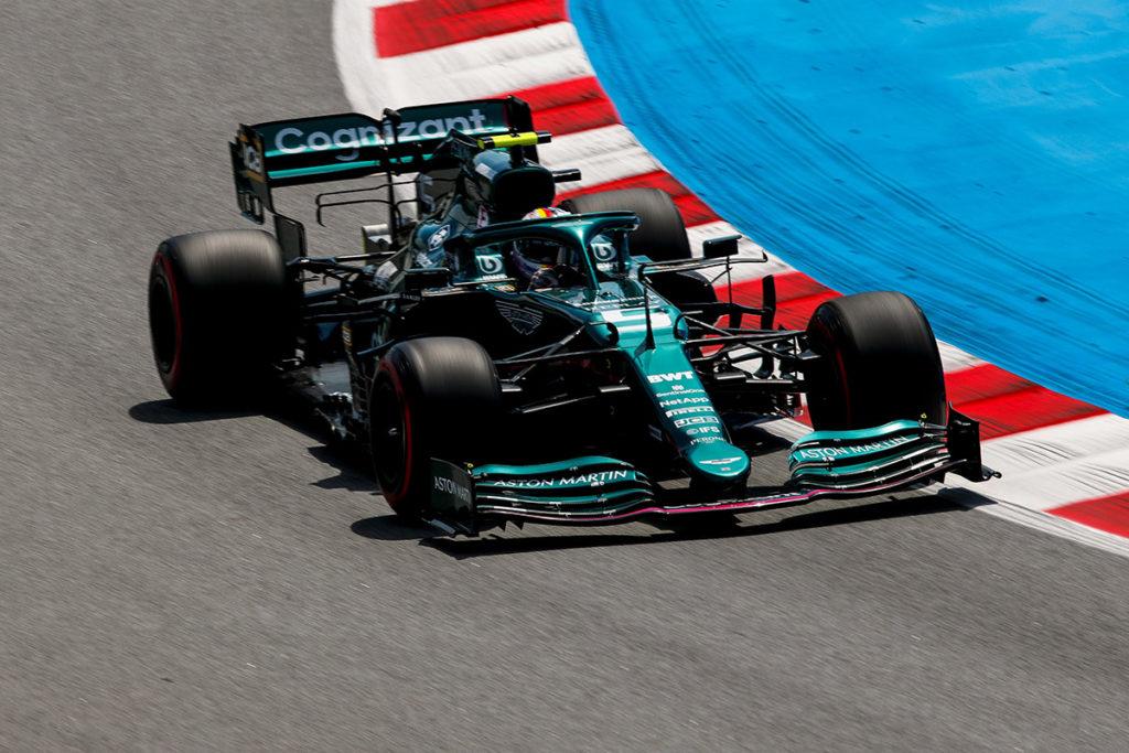 Formel 1 Sebastian Vettel Aston Martin Spanien GP 2021 Rennen