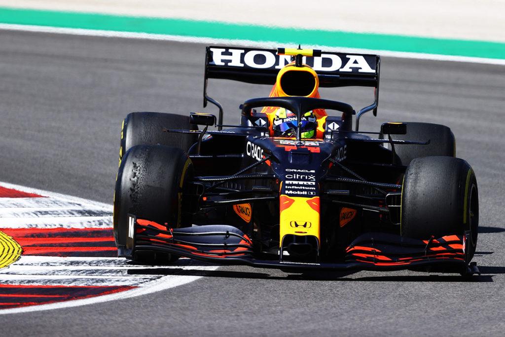 Formel 1 Sergio Perez Portugal GP 2021 Rennen