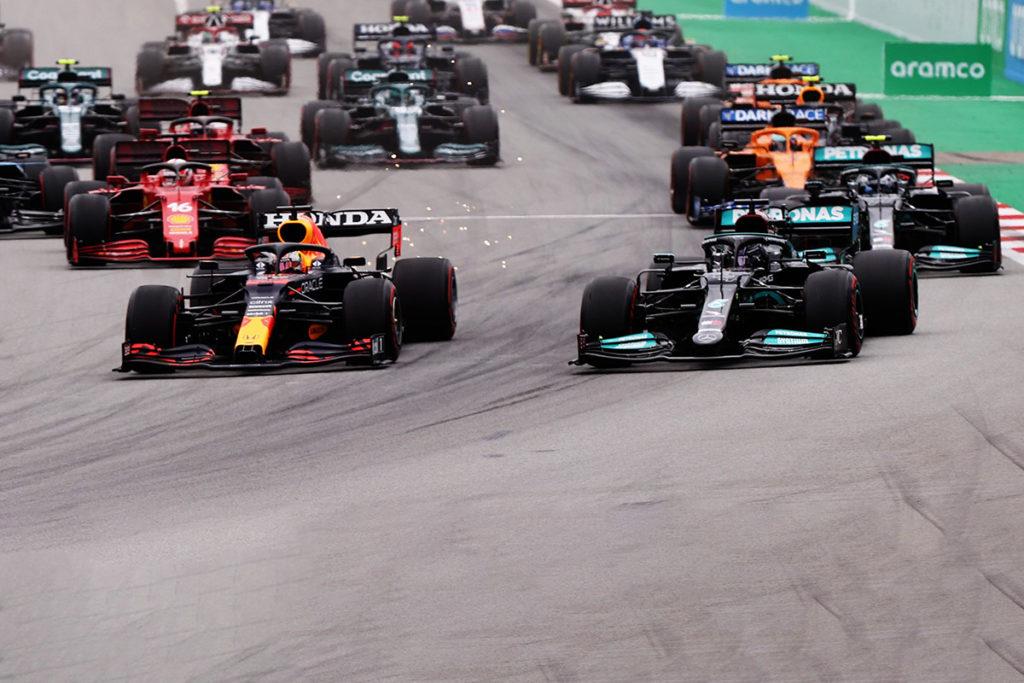 Formel 1 Spanien GP 2021 Start