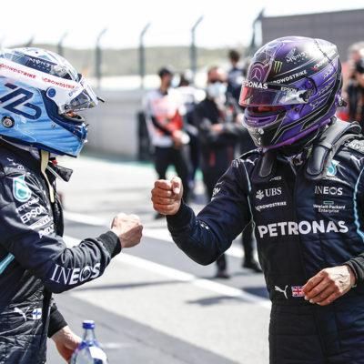 Formel 1 Valtteri Bottas Lewis Hamilton Mercedes 2021