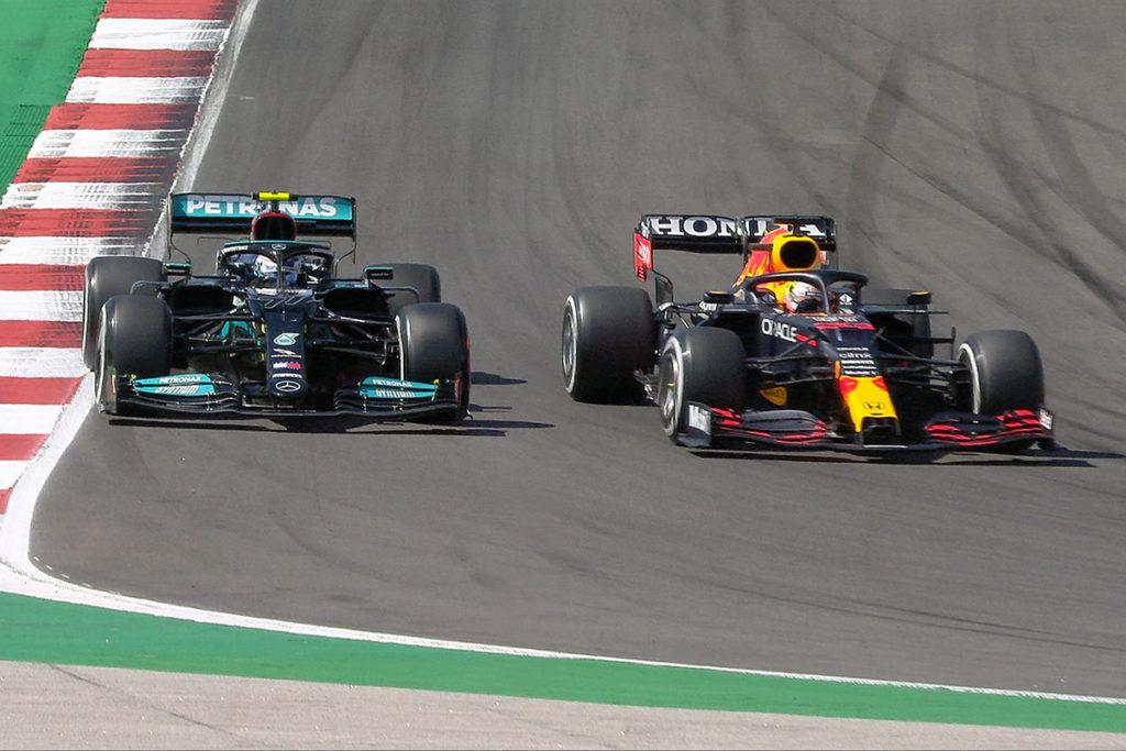 Formel 1 Valtteri Bottas Max Verstappen Portugal GP Rennen
