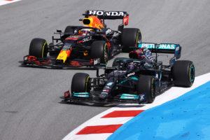Formel 1 Lewis Hamilton Mercedes Max Verstappen Red Bull Spanien GP 2021