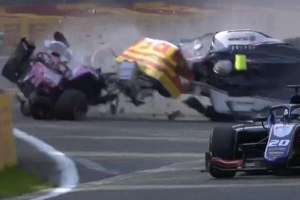 Juan Manuel Correa Crash