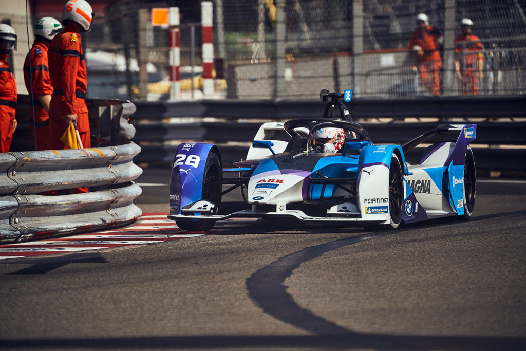 Formel E BMW Monaco ePrix Gunther