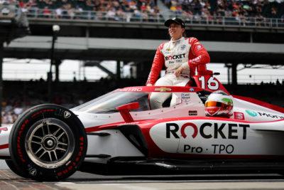 Indycar de Silvestro Indy 500 2021 03
