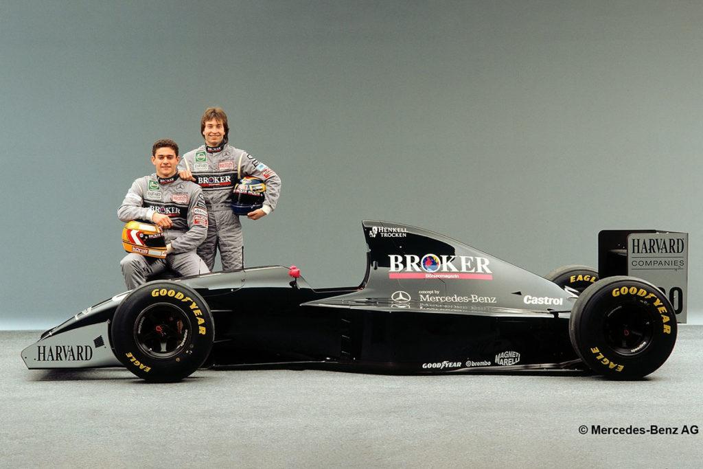 Karl Wendlinger Heinz Harald Frentzen Mercedes Formel 1